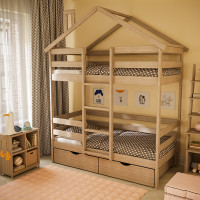 Кровать Домик 2-х ярусная