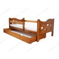 Кровать Звездочет детская из березы