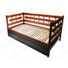 Деревянные кровати с тремя спинками