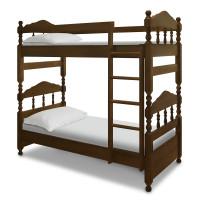 Кровать Точенка 2-х яр. из березы
