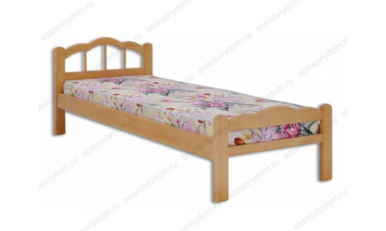 Кровать Амелия детская из массива березы