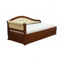Диван кровать Альфа-2 из березы