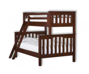 Кровать Лофт 2-х яр. из березы