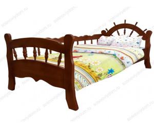 Кровать Моряк детская из березы