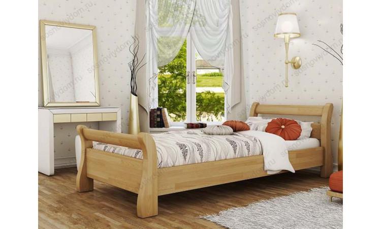 Кровать Прага детская из массива березы