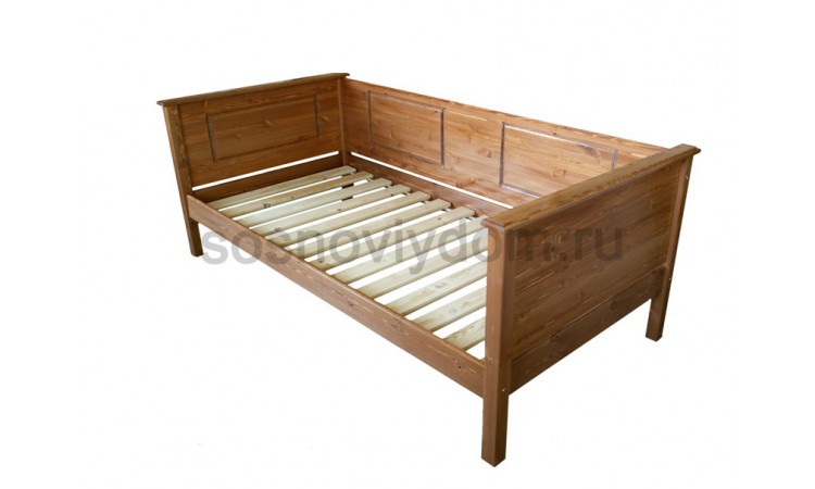 Кровать Эко детская из массива березы