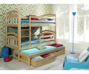 Кровать Айова 3-х ярусная