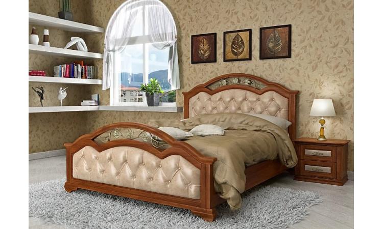 Кровать Доминика с ковкой