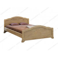 Кровать Сатори без рисунка из березы