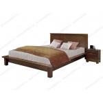 Полутороспальные кровати из березы