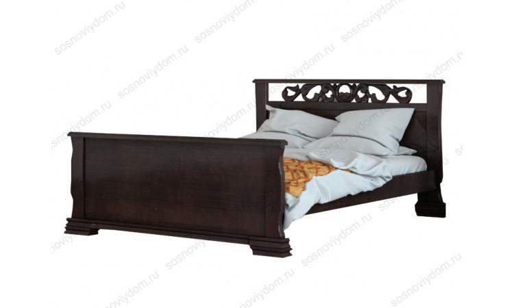 Кровать Версаль резная из массива березы
