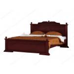 Двуспальные кровати из березы