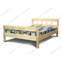 Кровать Дачная из массива березы