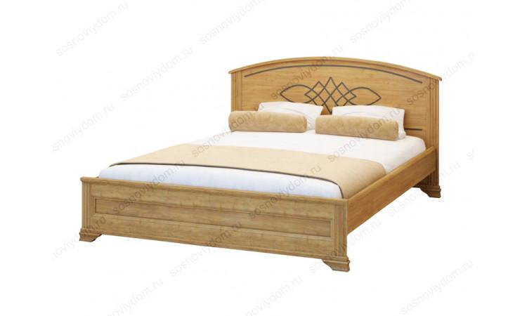 Кровать Гера-2 из массива березы