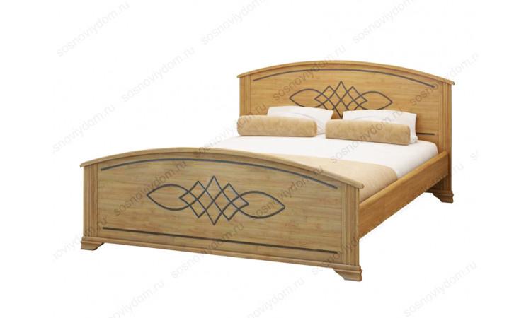 Кровать Гера из массива березы