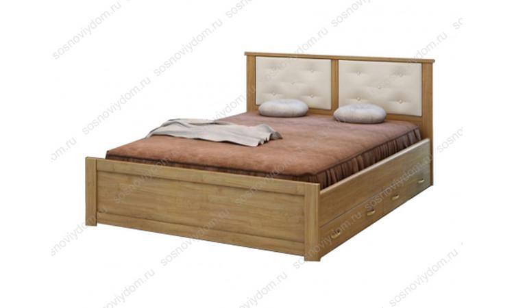 Кровать Глория из массива березы
