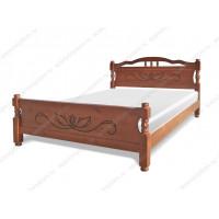 Кровать Грета из массива березы