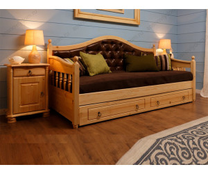 Кровать Милана детская из березы