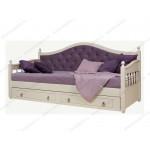 Белые детские кровати из массива дерева