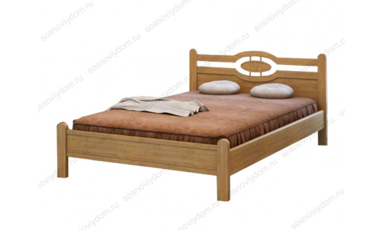 Кровать Милиса из массива березы
