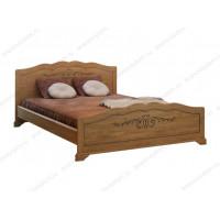 Кровать Муза из массива березы