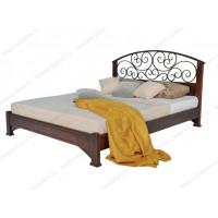Кровать Омега-11 из массива березы