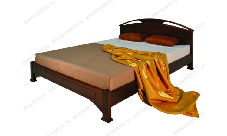 Кровать Омега-1 из массива березы