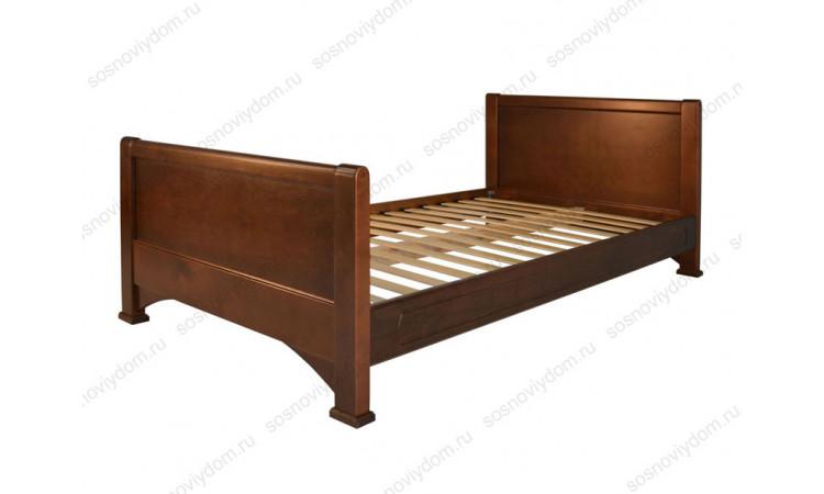 Кровать Омега-12 из массива березы