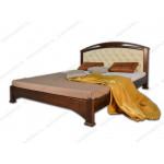 Двуспальные кровати с мягким изголовьем