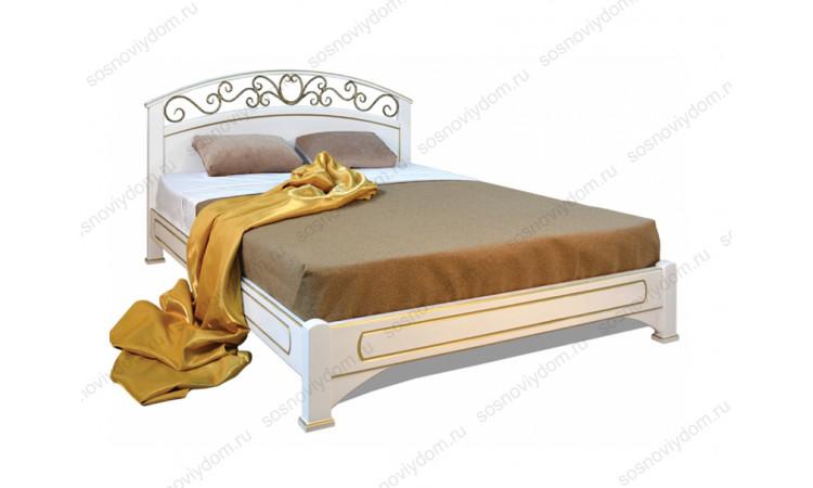 Кровать Омега-5 из массива березы