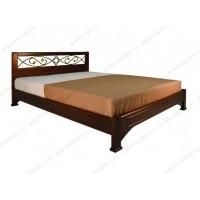 Кровать Омега-7 из массива березы
