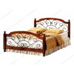 Кровати с элементами ковки