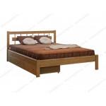 Деревянные кровати с ящиками