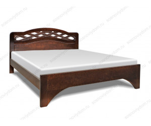 Кровать Сицилия из массива березы