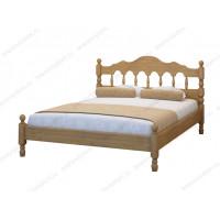 Кровать Точенка-2 из массива березы