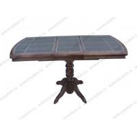 Стол №15 с плиткой массив березы