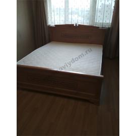Кровать Афина,старый орех-2