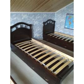 Кровать Джулия,цвет,классический орех-3