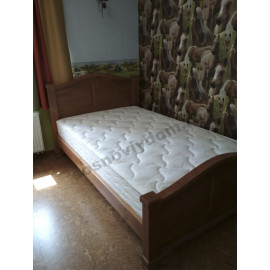 Кровать Европа,цвет коричневый-2