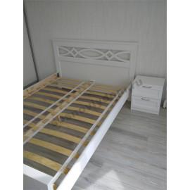 Кровать Лира,цвет белый