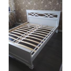 Кровать Лира белая