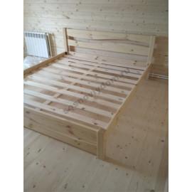 Кровать Лотос,цвет натуральный
