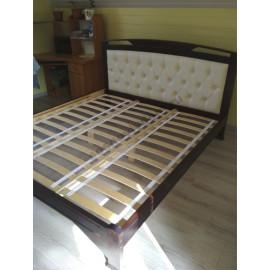 Кровать Омега-2,старый орех-3