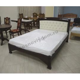 Кровать Омега-2,классический орех-3