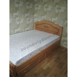 Кровать Сатори,цвет коричневый-2