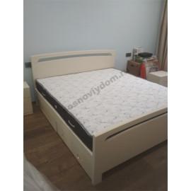 Кровать Бали,слоновая кость