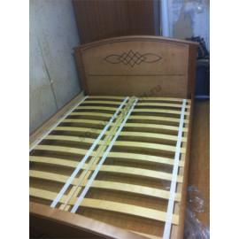 Кровать Гера,цвет коричневый-2