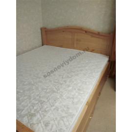 Кровать Европа,классический орех-1