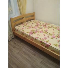 Кровать Ника,классический орех-1