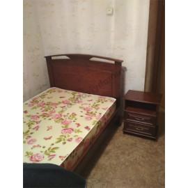 Кровать Омега-1,цвет старый орех-3